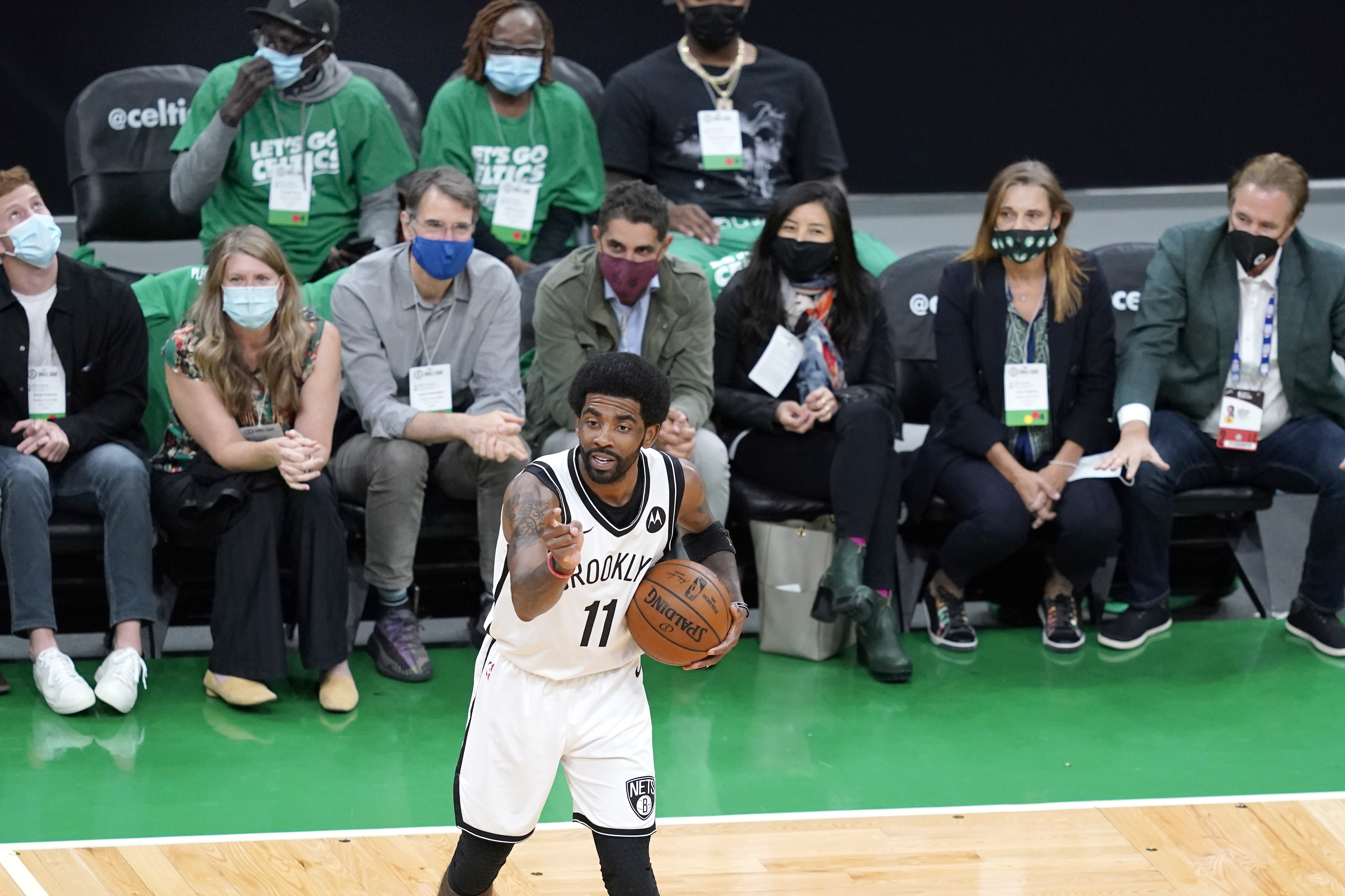 <p>Nets' Kyrie Irving:'I'm Cool With' Reception from Celtics Fans During Game 3 Loss thumbnail