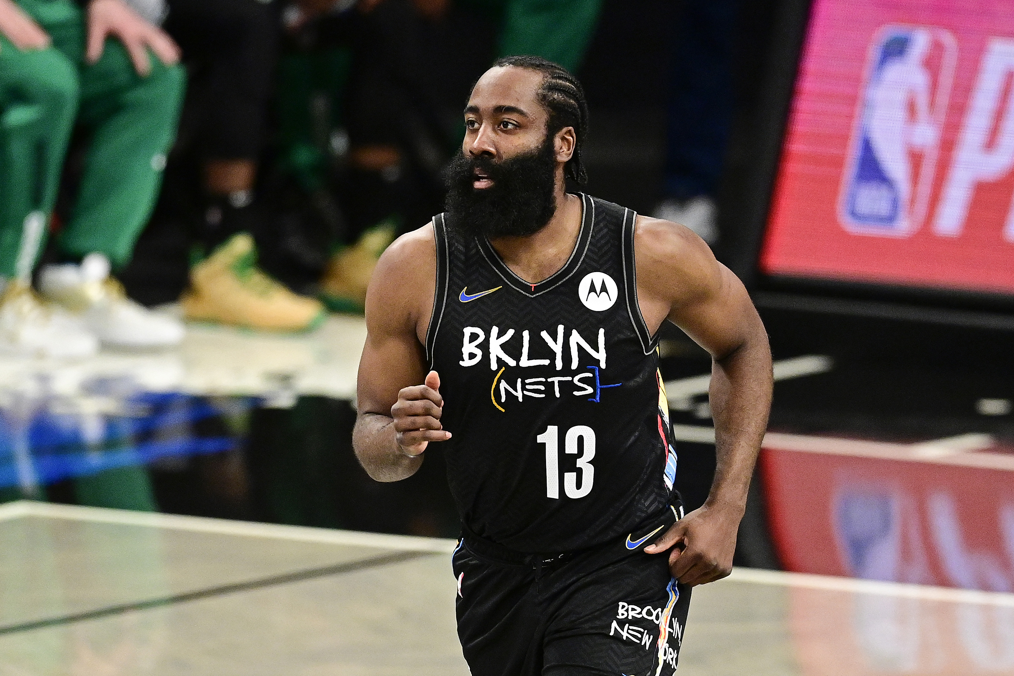 <p>Kyrie Irving Says Nets Will Feel James Harden's Loss After Injury'No Matter What' thumbnail