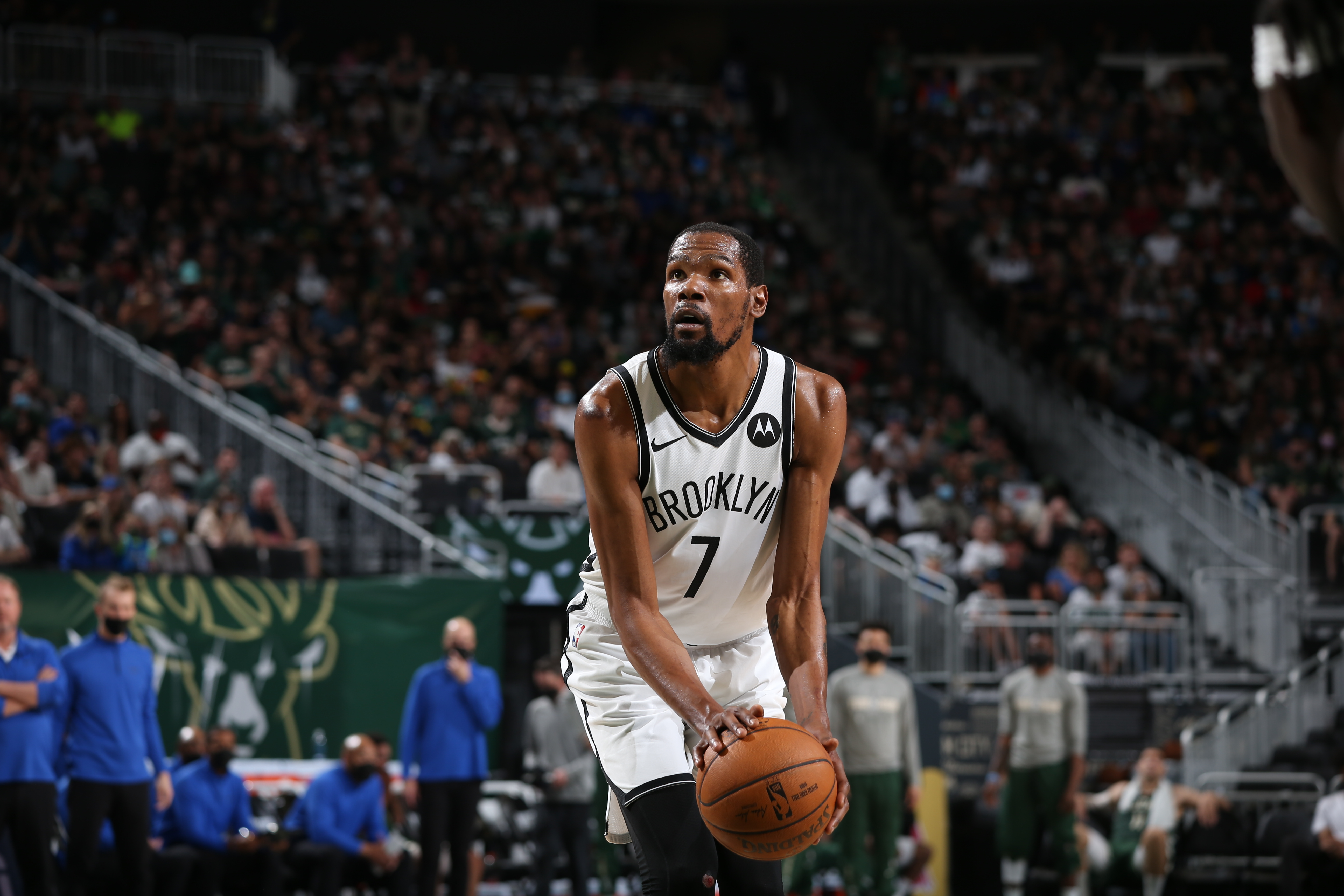 Kevin Durant Laments Nets' Play Down the Stretch in'Tough' Game 3 Loss to Bucks thumbnail