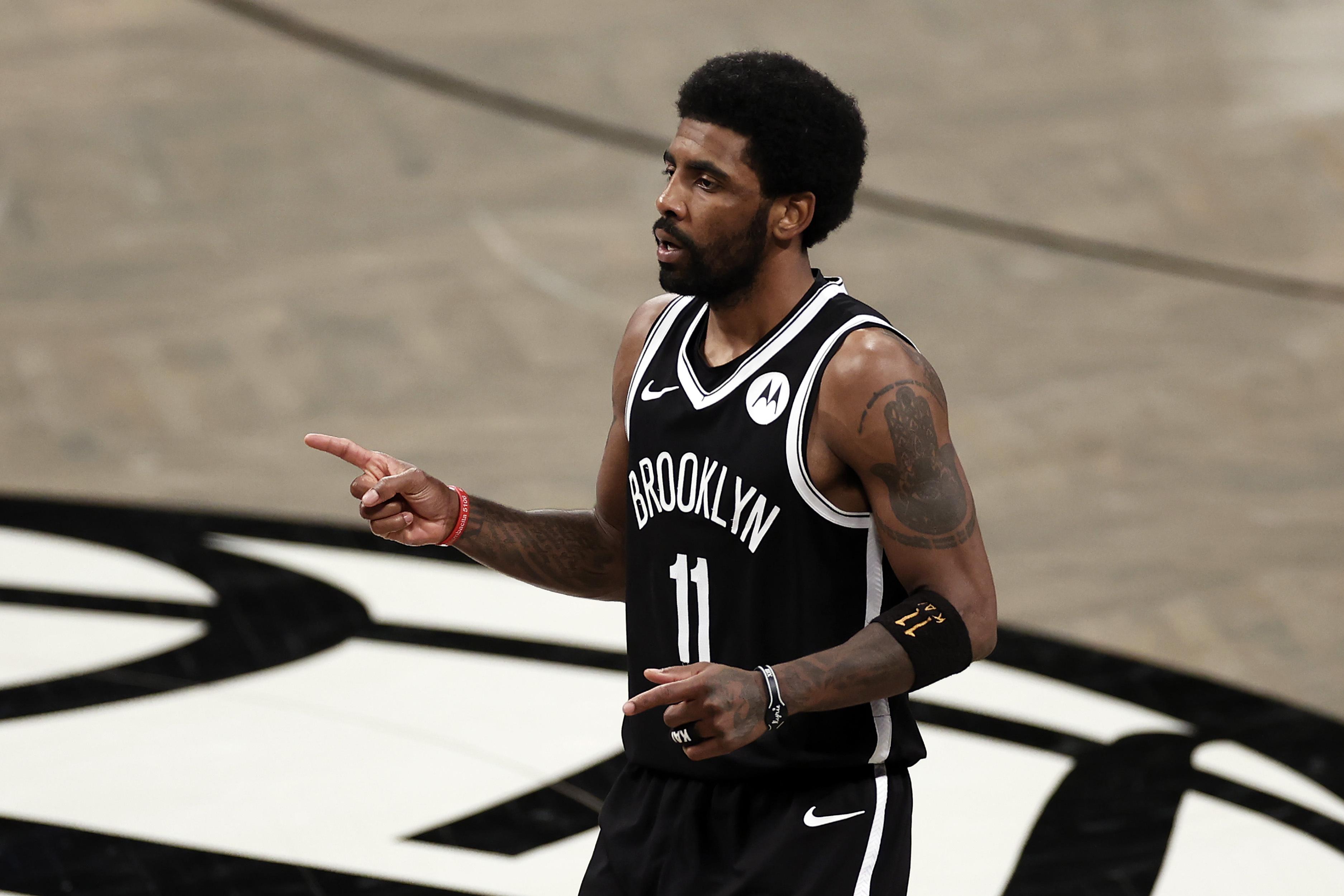 <p>Kyrie Irving: Bruce Brown Doesn't Deserve Blame for Nets' Game 3 Loss vs. Bucks thumbnail