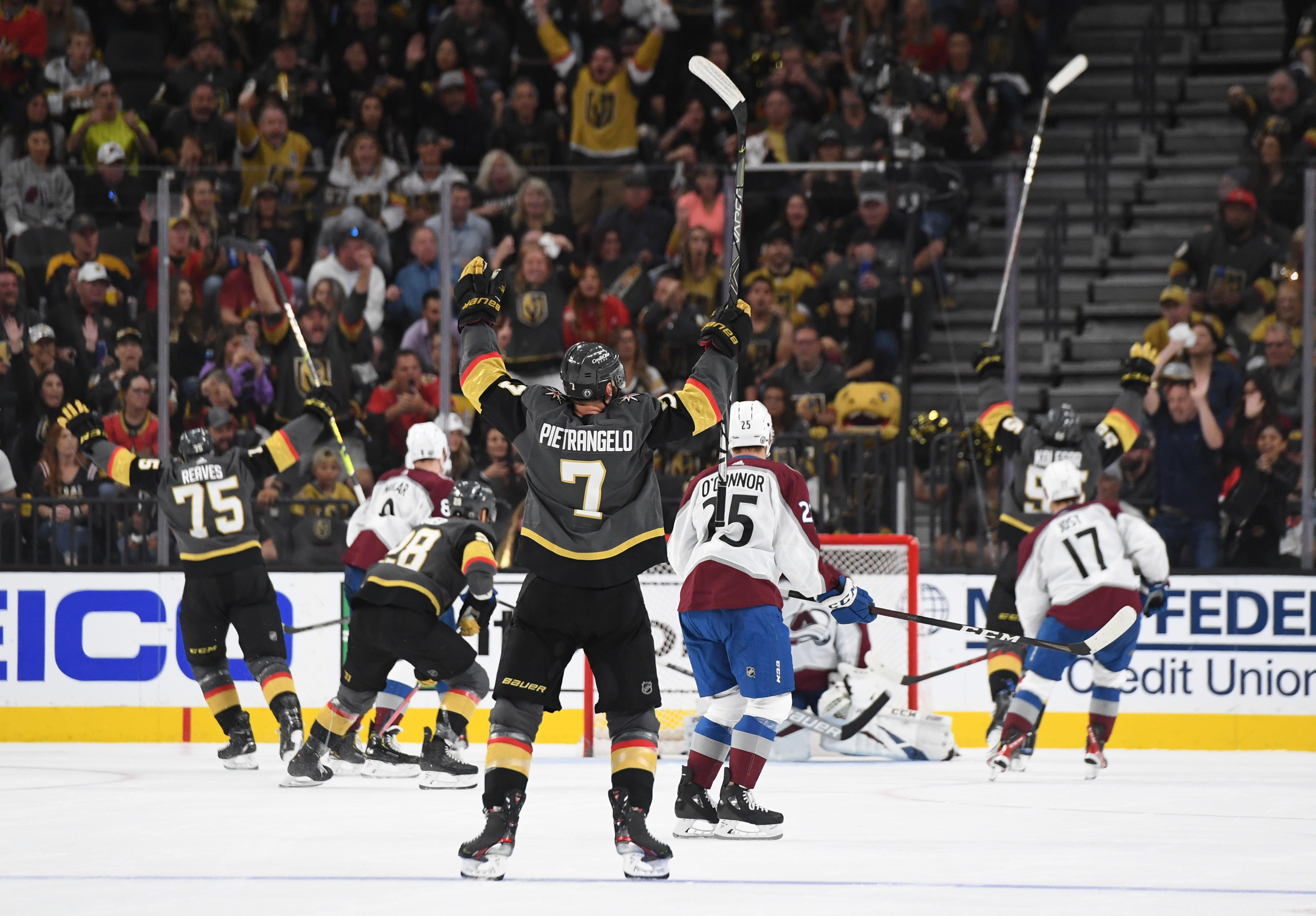 <p>Golden Knights Eliminate Avalanche, Will Face Canadiens in Stanley Cup Semifinals thumbnail