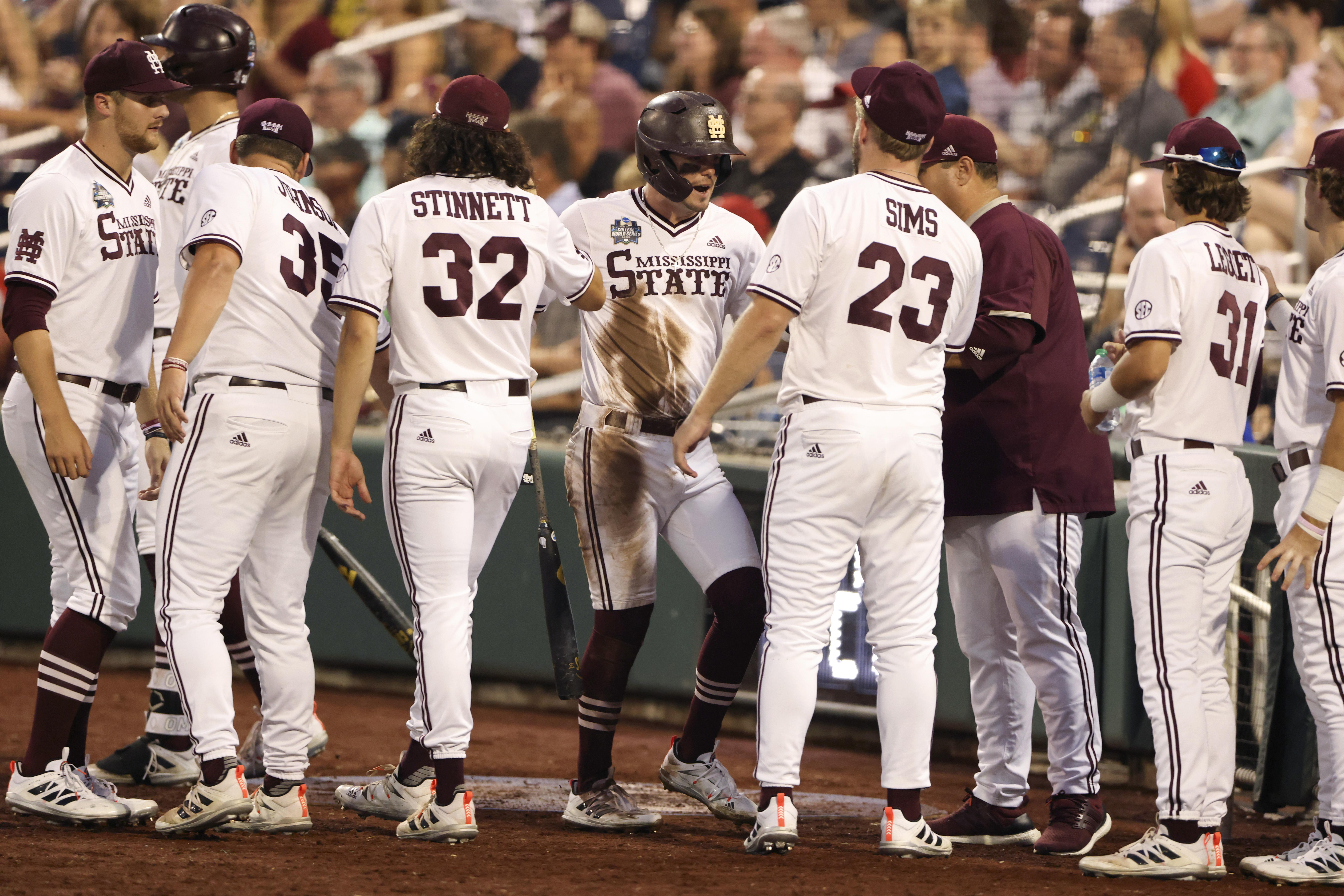 College World Series Finals 2021: Mississippi State Crushes Vanderbilt to Even Series