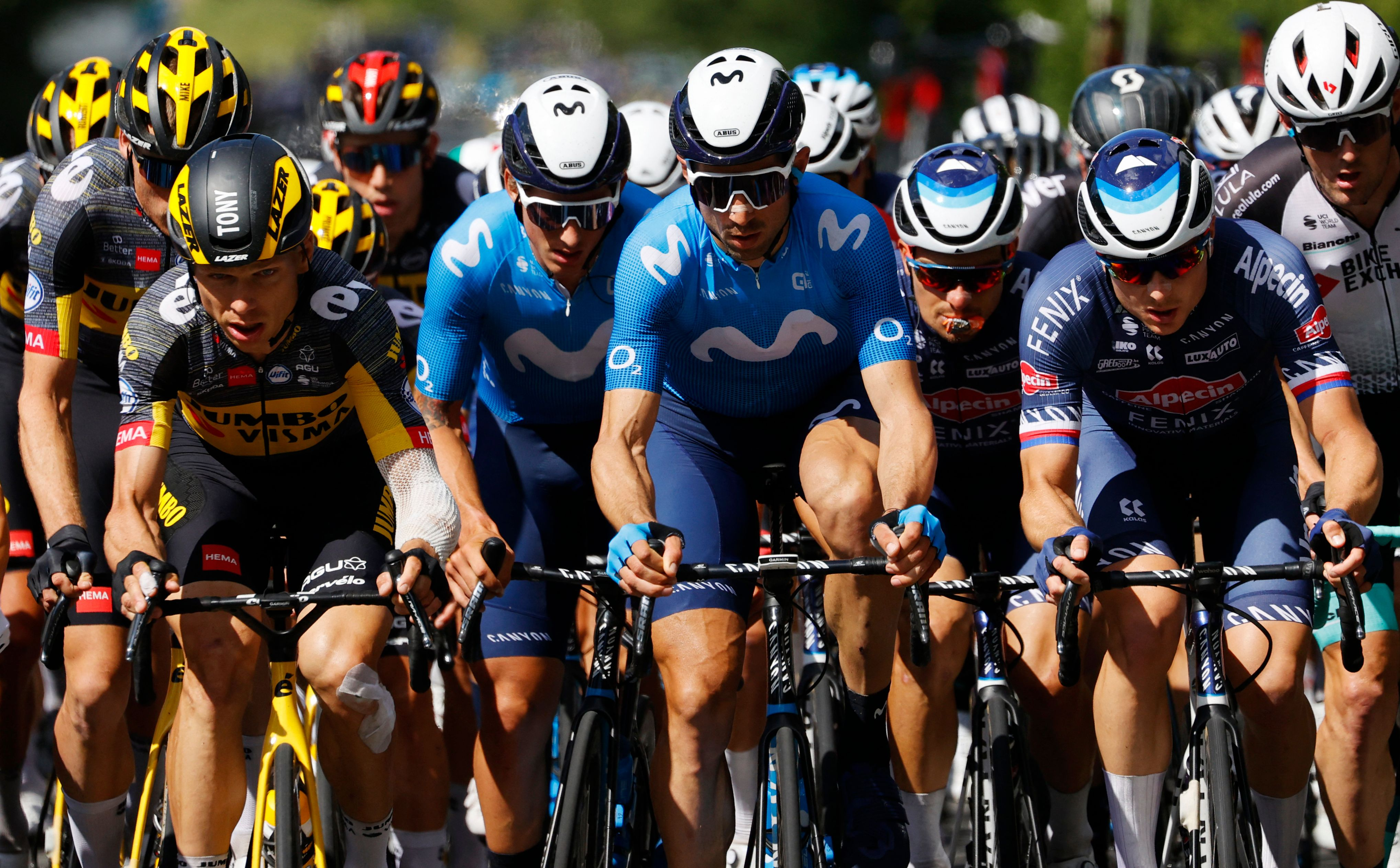 Report: Woman Arrested for Causing Tony Martin, Riders to Crash at Tour de France
