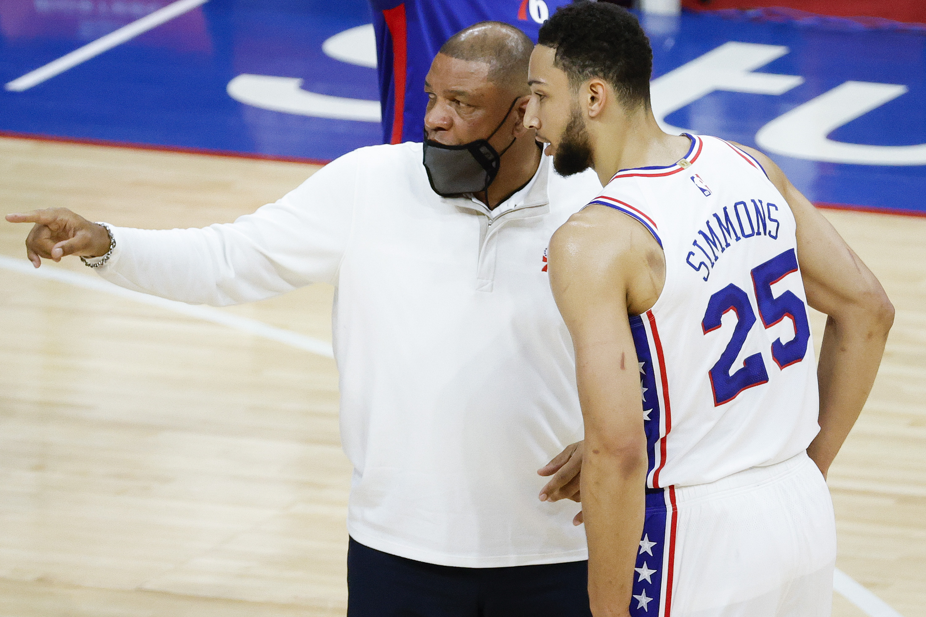 Doc Rivers: Ben Simmons 'Fantastic'; 'I Want Him Back' with 76ers amid Trade Rumors