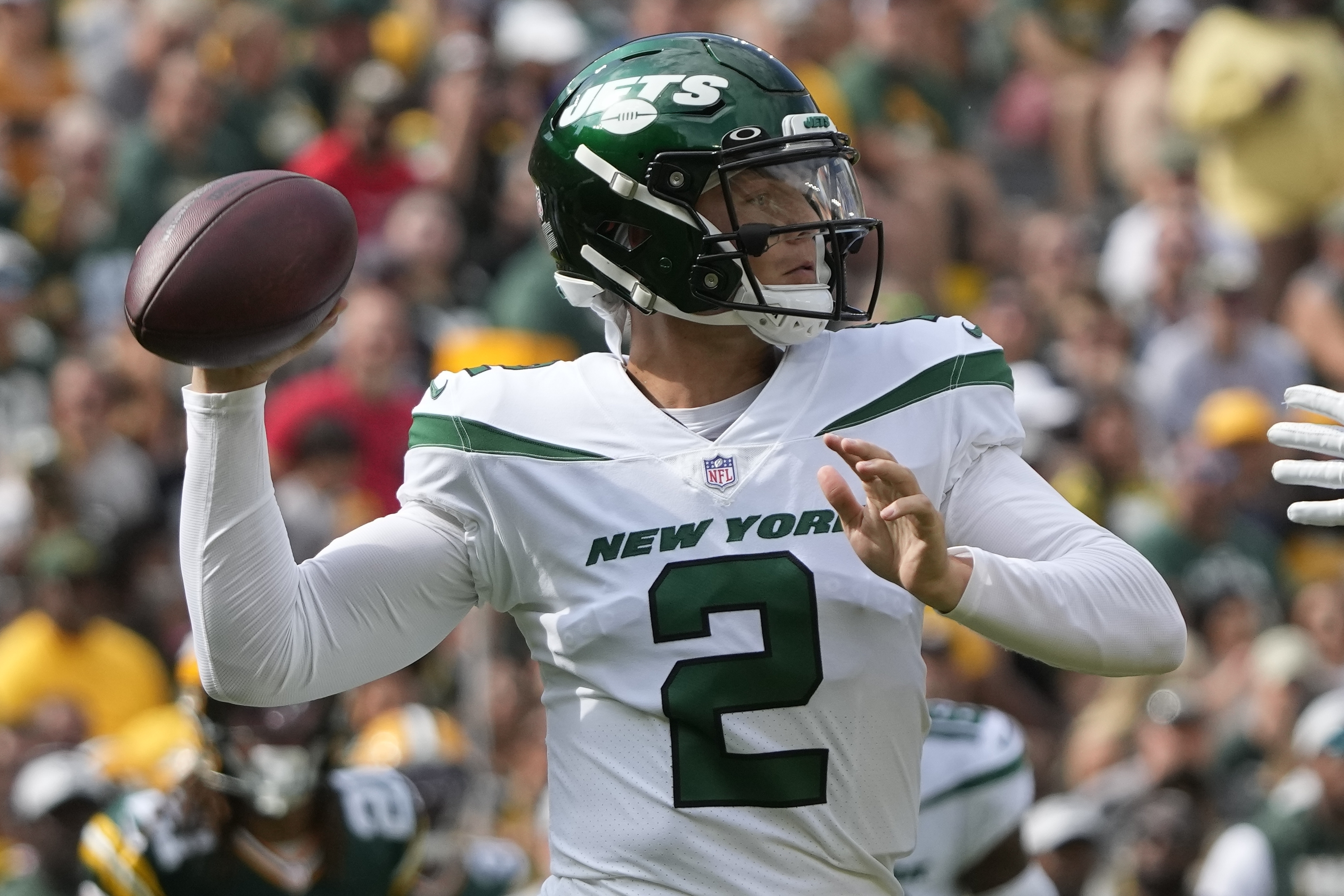 Aaron Rodgers Says Jets' Zach Wilson Can 'Throw the Heck' out of the Ball