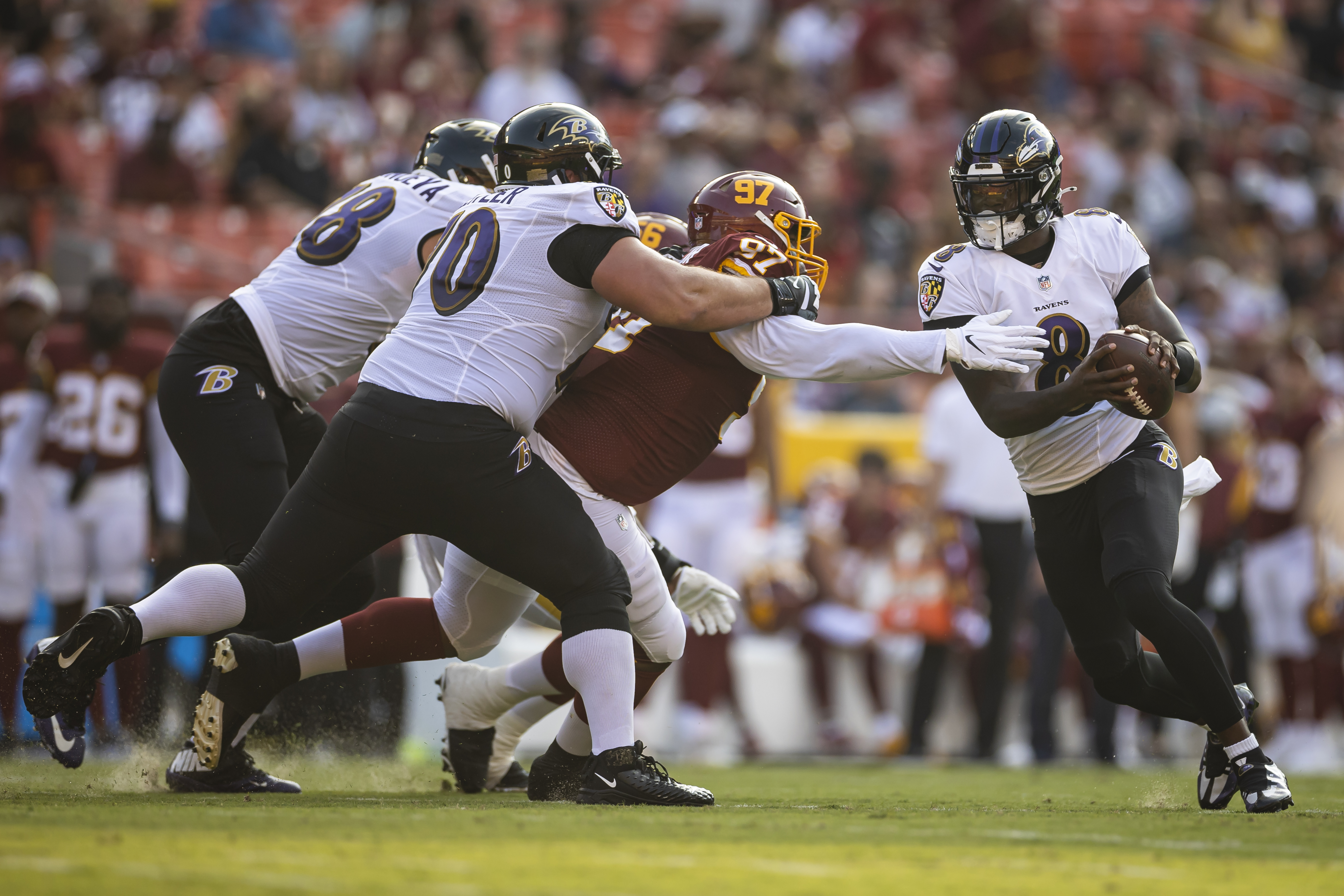 Ravens Set NFL Record with 20th Straight Preseason Win After Beating WFT