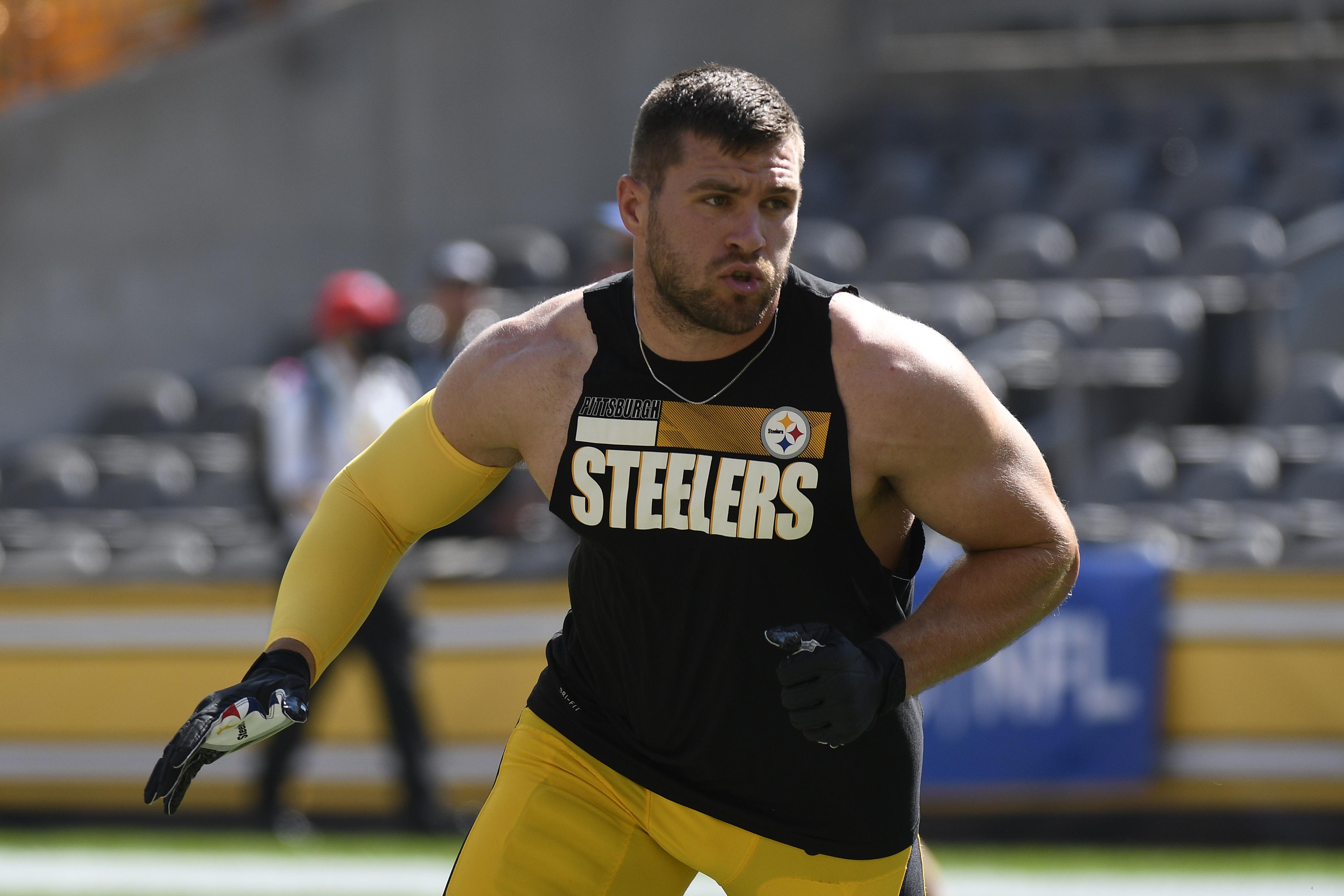 Steelers' T.J. Watt Won't Play vs. Bengals Because of Groin Injury