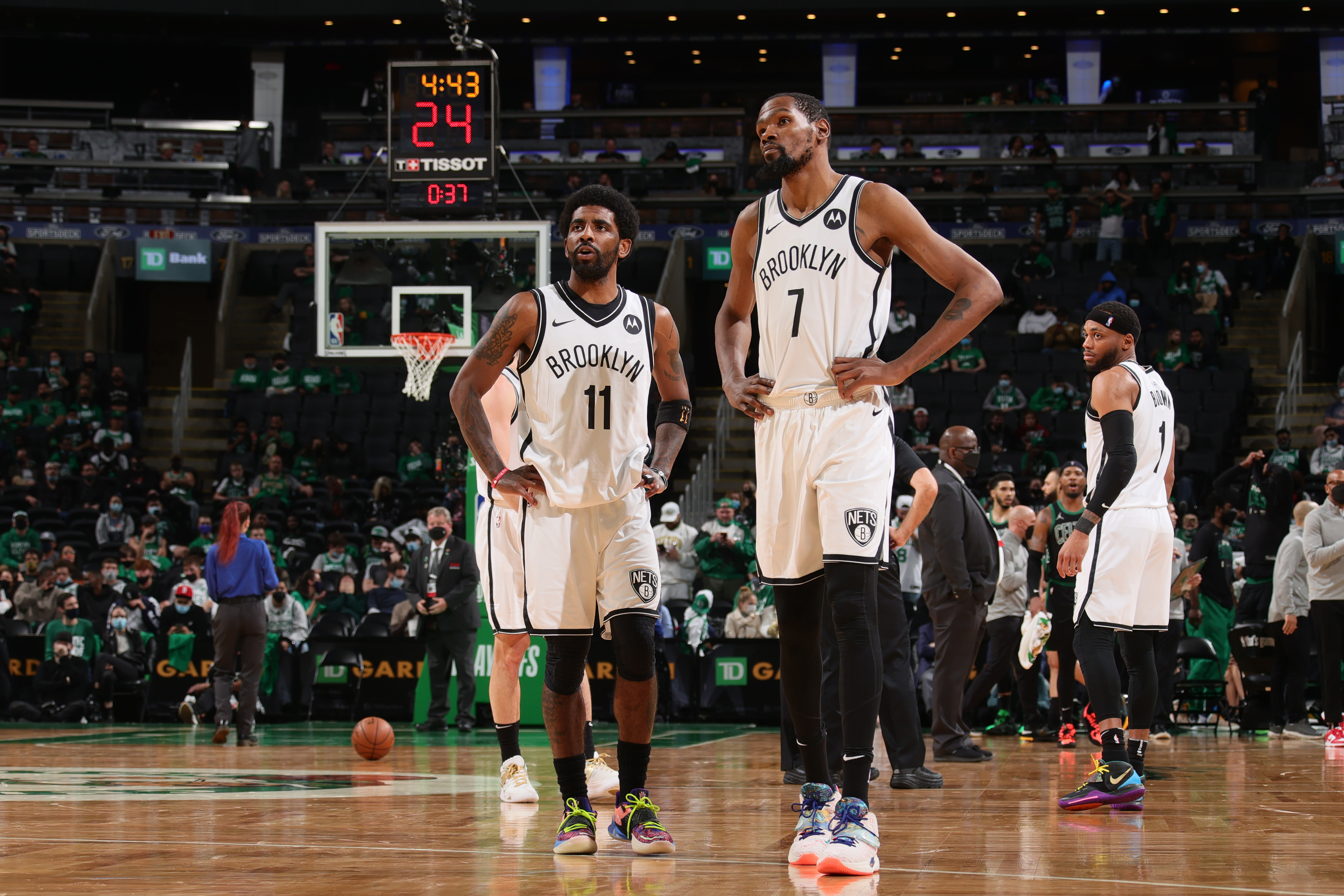 Stephen A: Kevin Durant Nixed Nets' Trading Kyrie Irving to 76ers for Ben Simmons