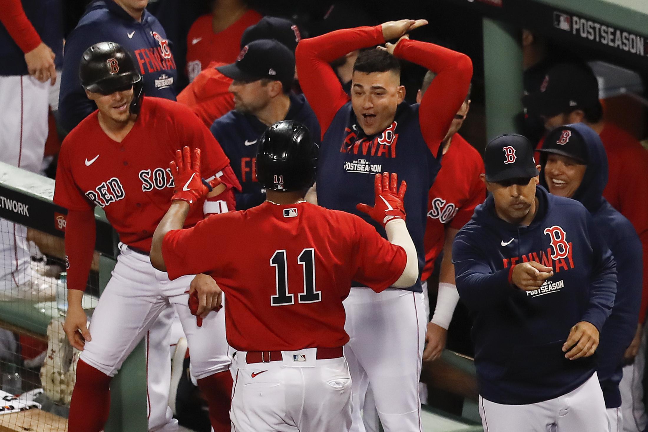 Kike Hernandez's Walk-Off RBI Gives Red Sox ALDS Series Win vs. Rays