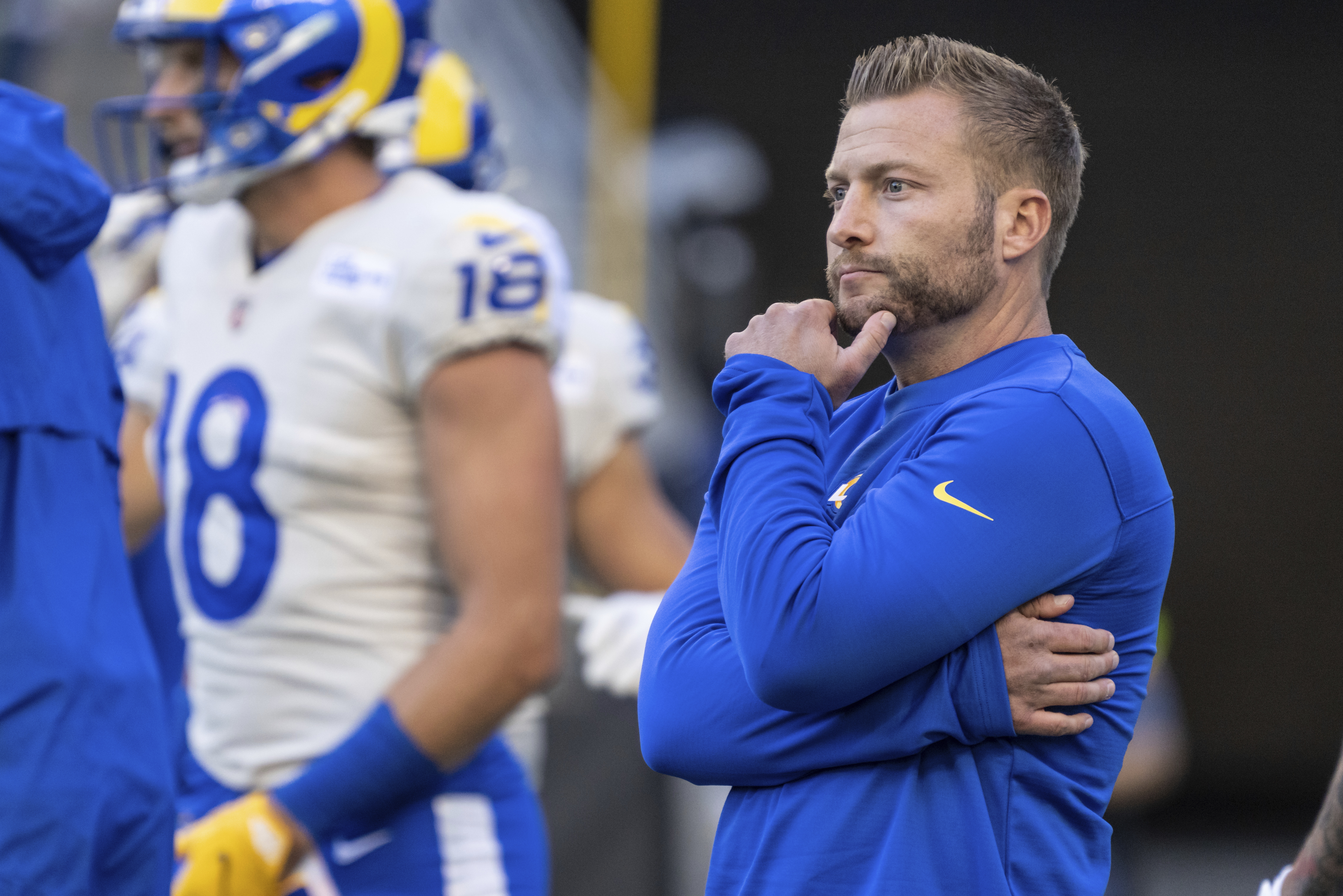 Rams' Sean McVay 'Surprised' by Jon Gruden: 'I Have Not Seen That Side of Him' thumbnail