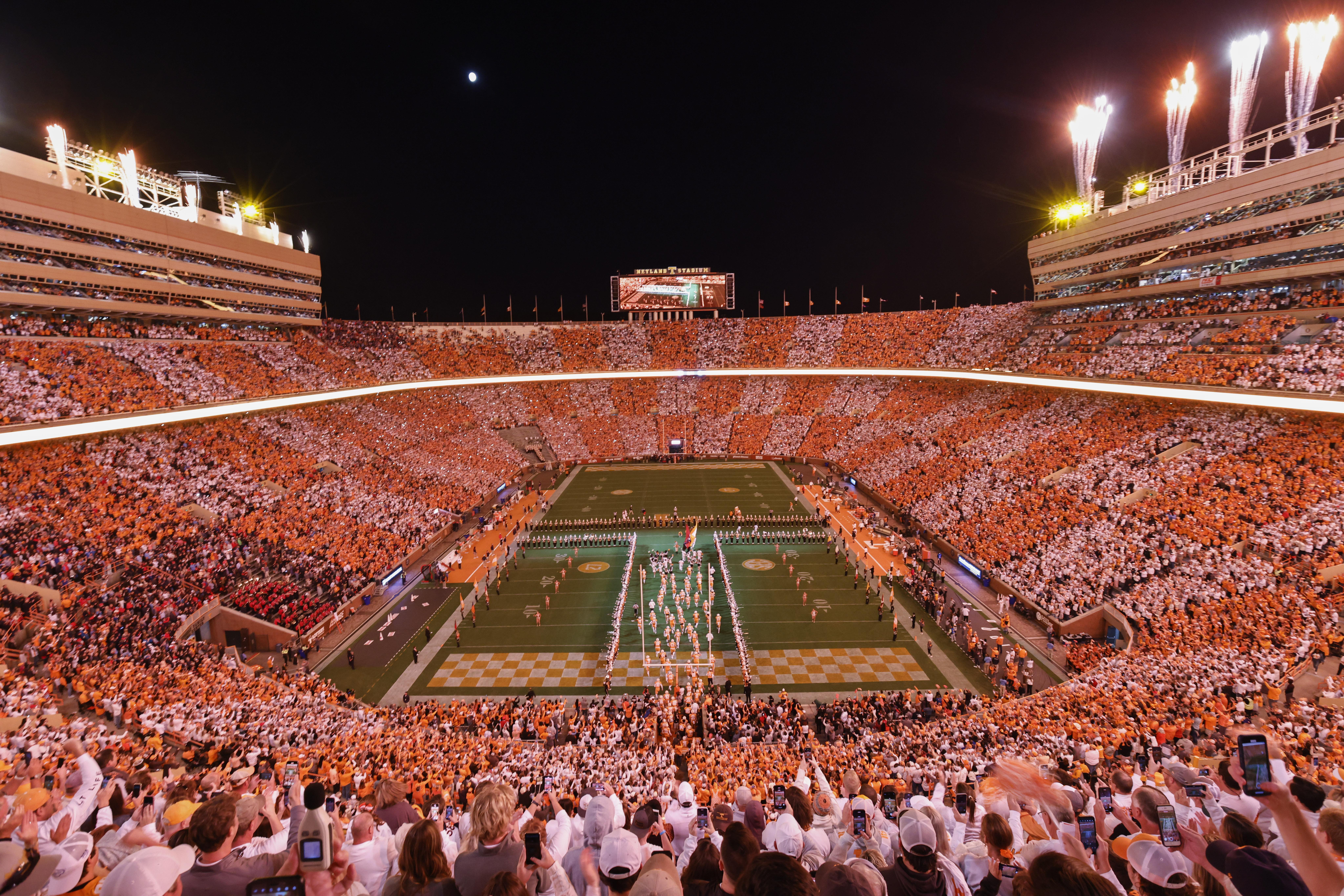 Tennessee Fined $250K for Fan Behavior in Loss vs. Lane Kiffin, Ole Miss