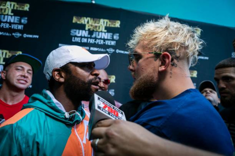 Jake Paul Shares Photo Of Gotcha Hat Tattoo After Floyd Mayweather Jr Altercation Bleacher Report Latest News Videos And Highlights