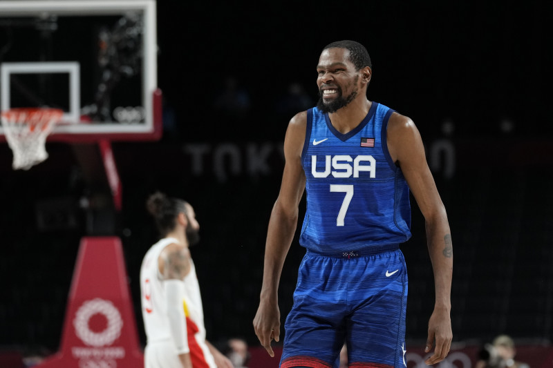 Olympic Basketball 2021: Kevin Durant, Team USA Beat Spain to Advance to  Semifinals | Bleacher Report | Latest News, Videos and Highlights