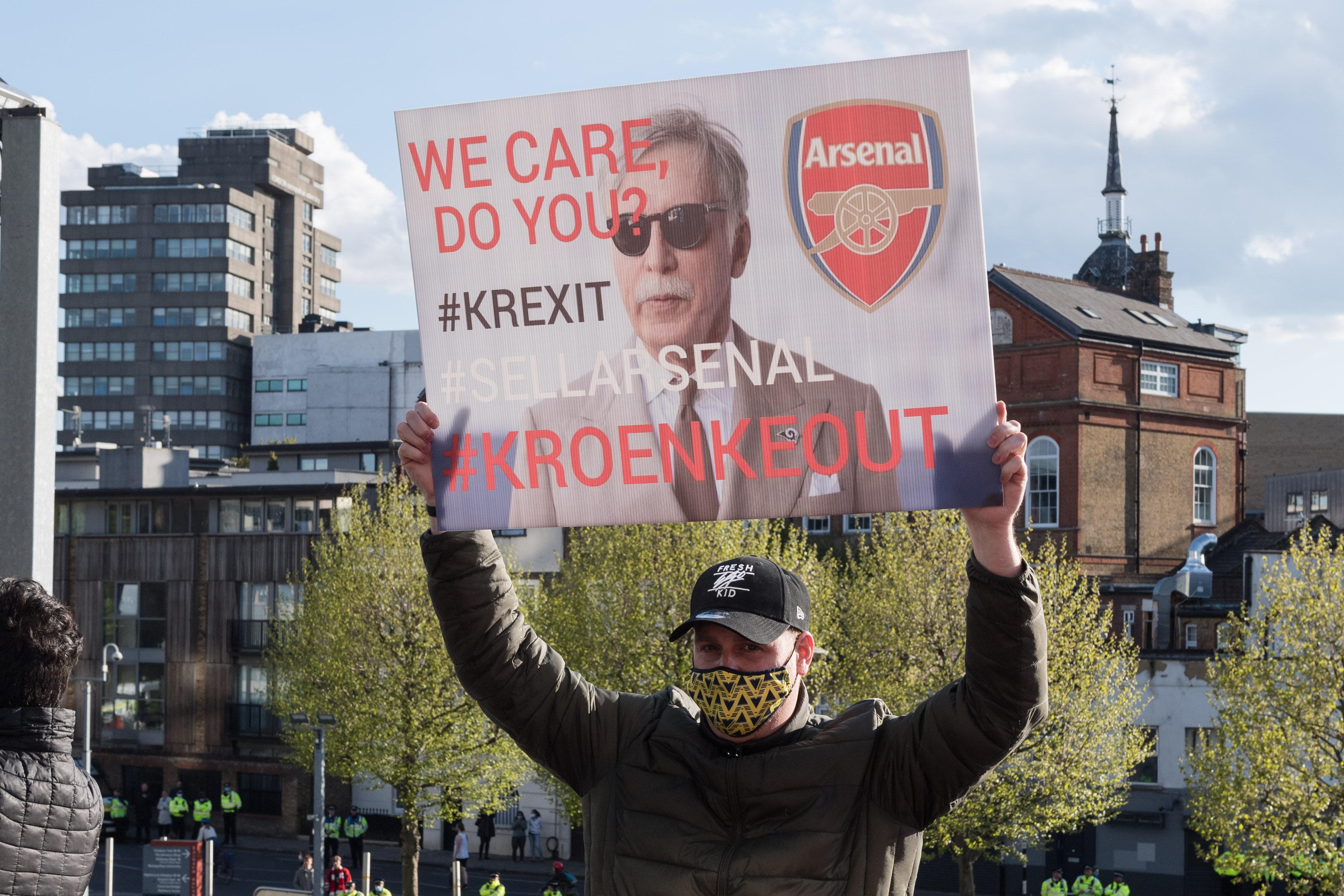 Spotify Founder Daniel Ek's Offer to Buy Arsenal Rejected by Kroenkes thumbnail