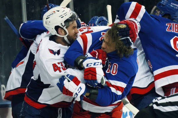 Rangers HC David Quinn Rips Capitals' Tom Wilson After Artemi Panarin Injury thumbnail
