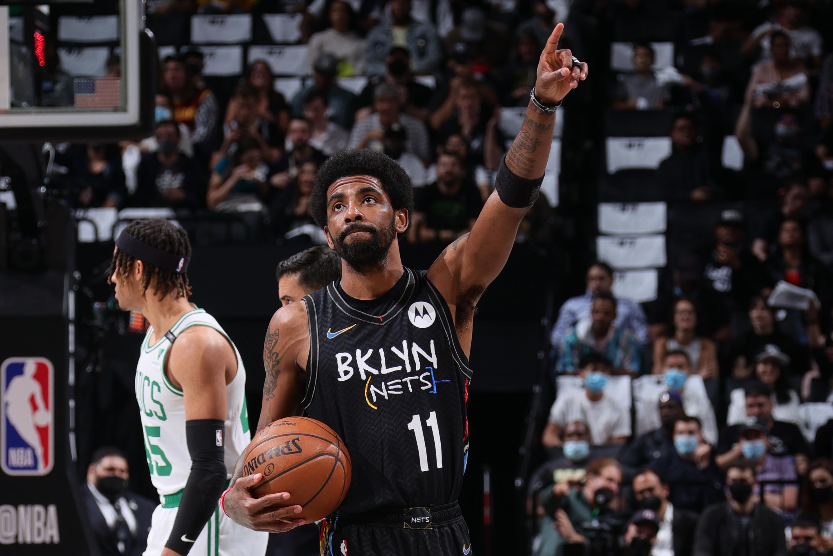 Kyrie Irving on Nets Closing Series vs. Celtics: 'I'm Glad It's Settled' thumbnail