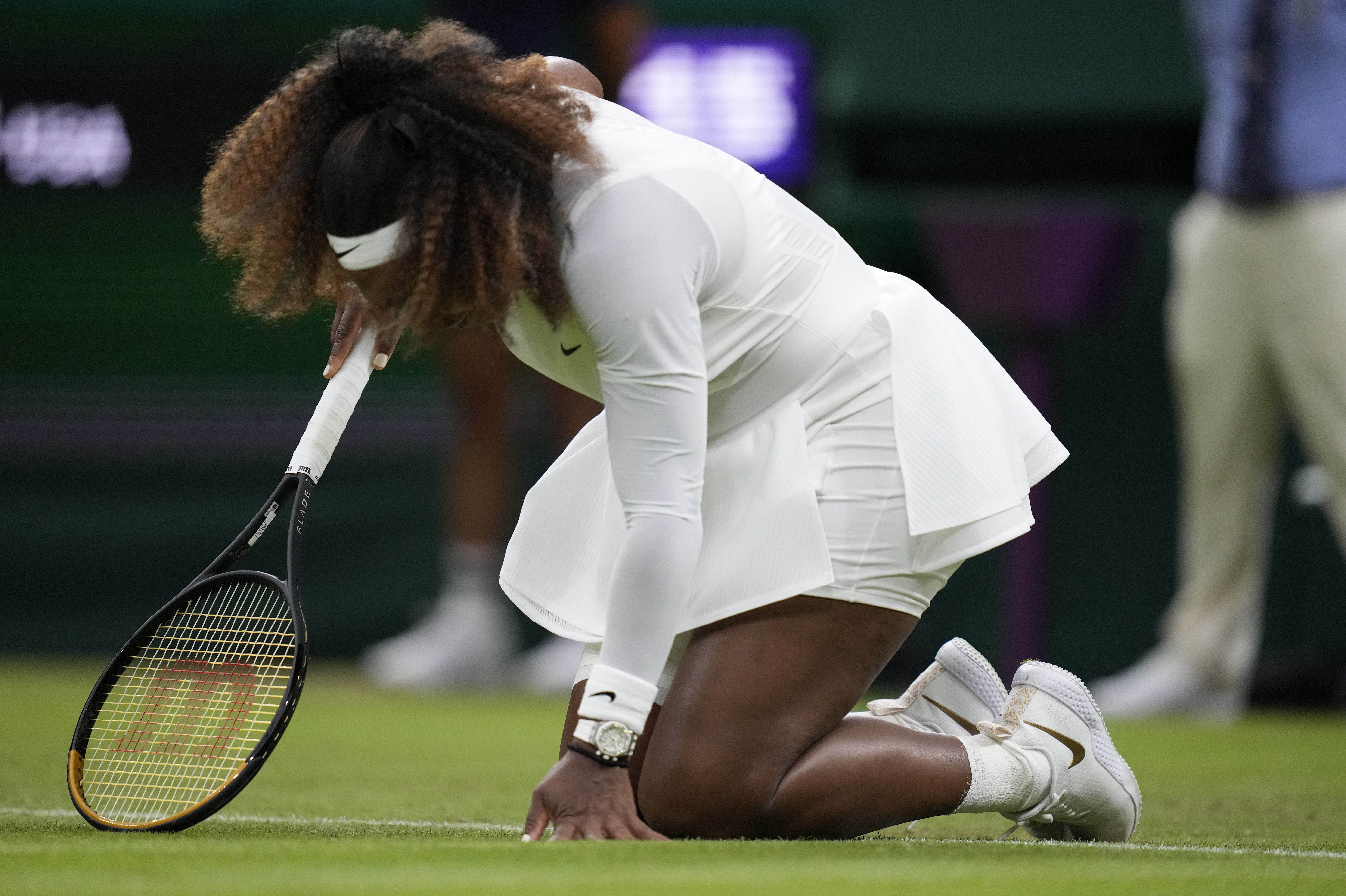 All England Board Member Defends Wimbledon Court Prep After Serena Williams' Injury