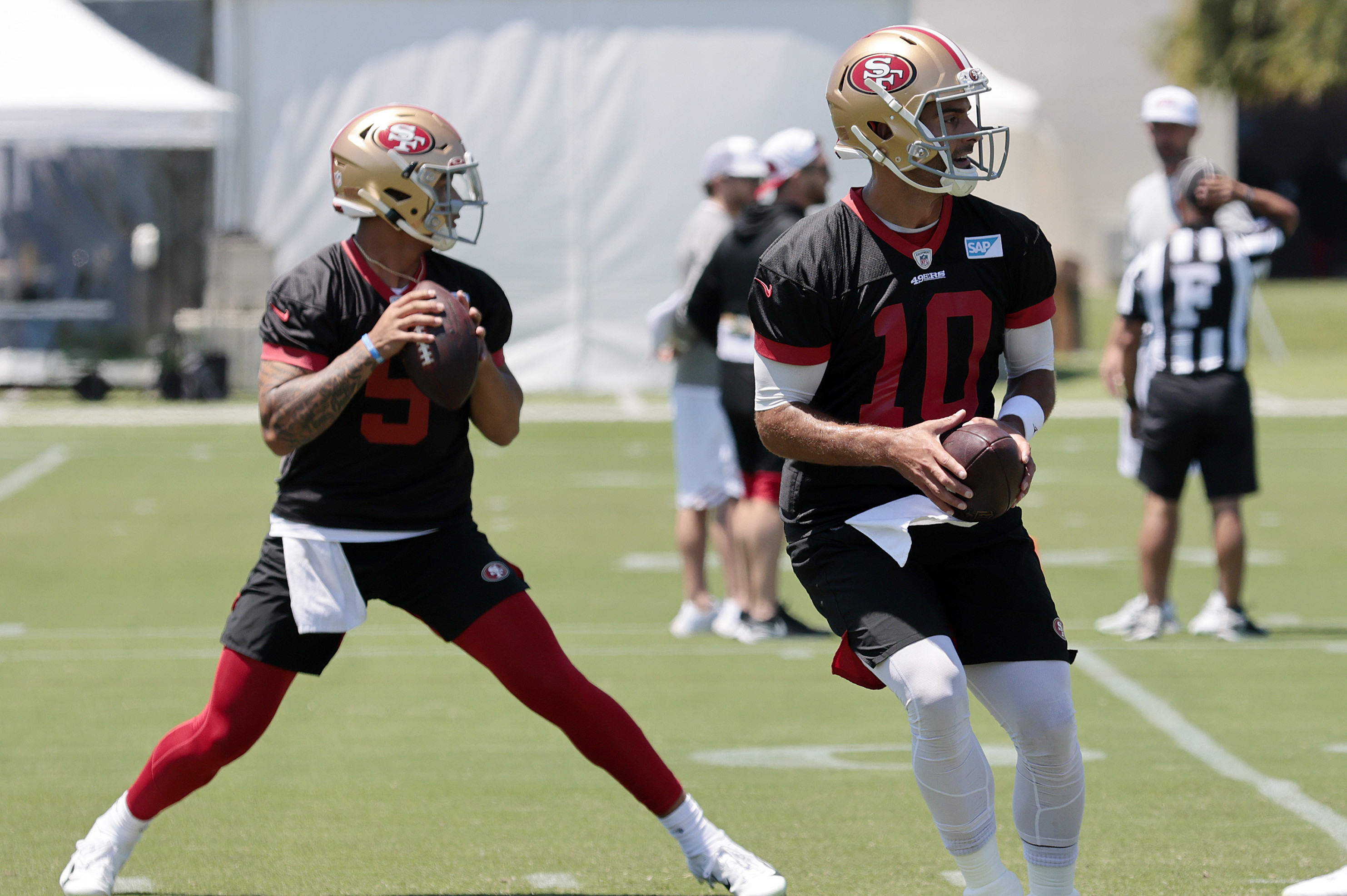 Trey Lance Praises 49ers' Jimmy Garoppolo: 'One of the Best People I've Been Around'