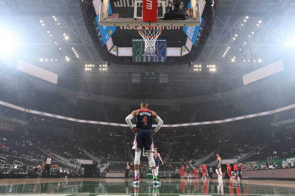 Wizards' Russell Westbrook Triple-Doubles vs. Bucks, Nears Oscar Robertson's Record thumbnail