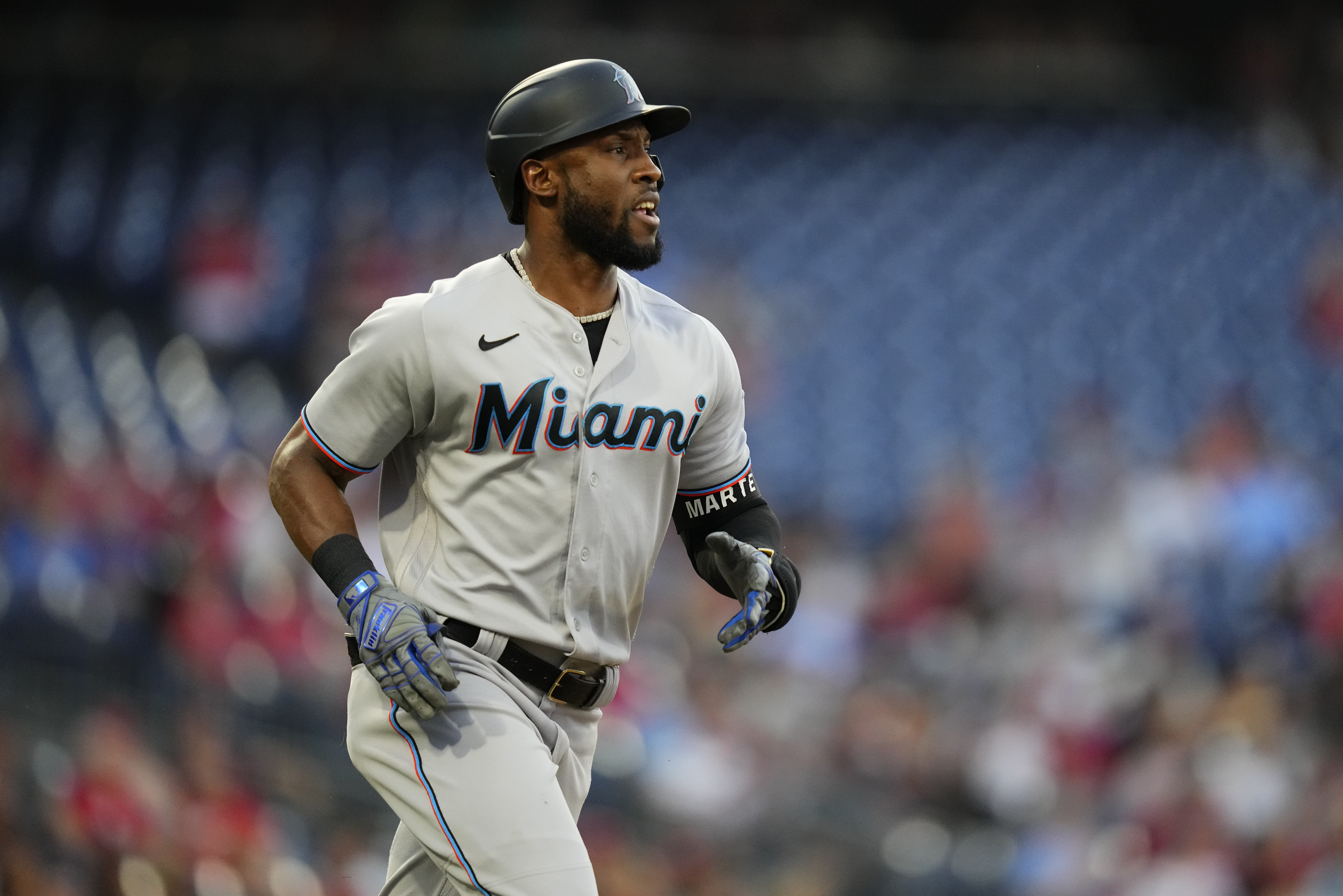 Report: Starling Marte Offered Multiyear Contract by Marlins Ahead of Trade Deadline