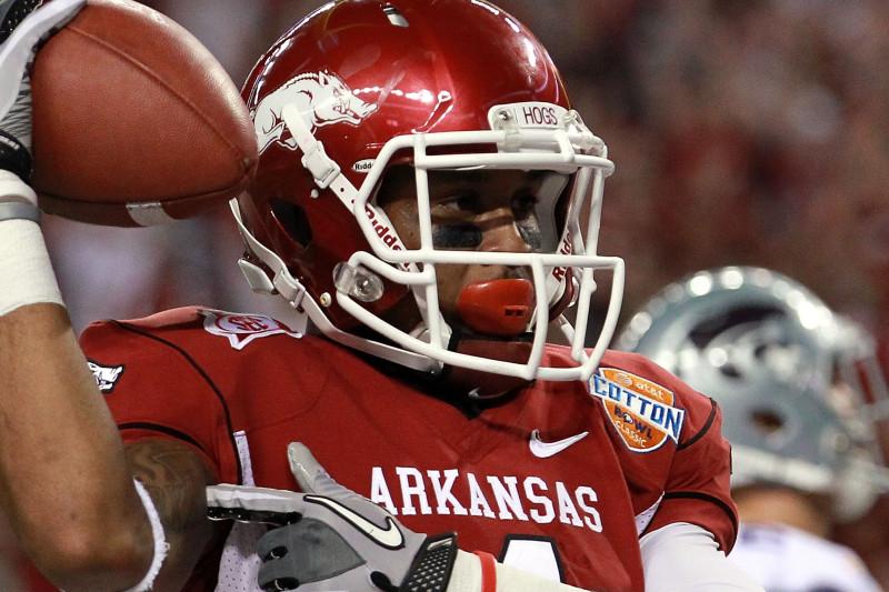 2012 NFL Draft's Biggest Sleeper: Arkansas Wide Receiver Jarius ...