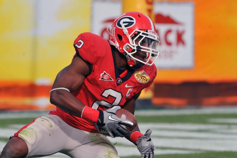 Brandon Boykin Georgia Bulldogs Football Jersey Red