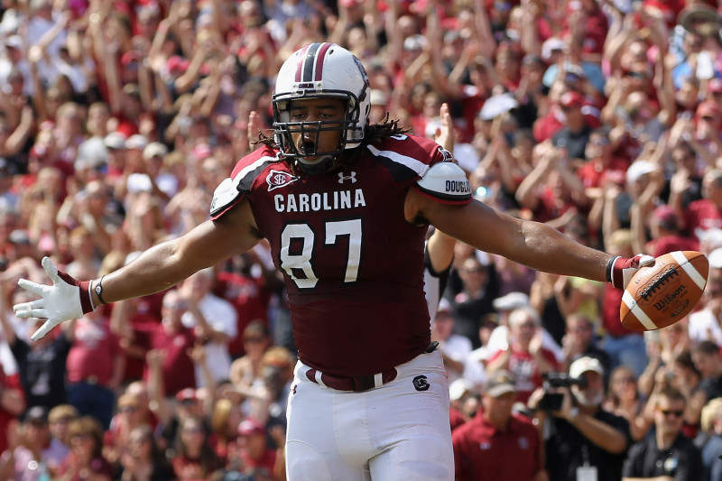 South Carolina Football: Justice Cunningham Is Mr. Underrated at Tight End  | Bleacher Report | Latest News, Videos and Highlights