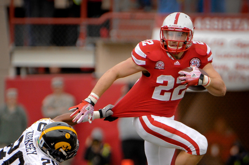 Nebraska Football: Is Rex Burkhead Worthy of Huskers' All-Time Top ...