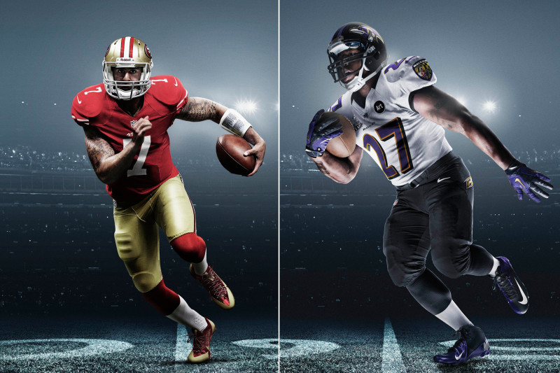Grading the 49ers' and Ravens' Special Super Bowl Uniforms ...