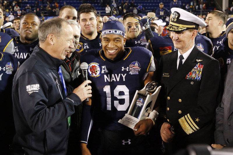 Keenan Reynolds' Jersey Retired by Navy: Latest Comments and ...