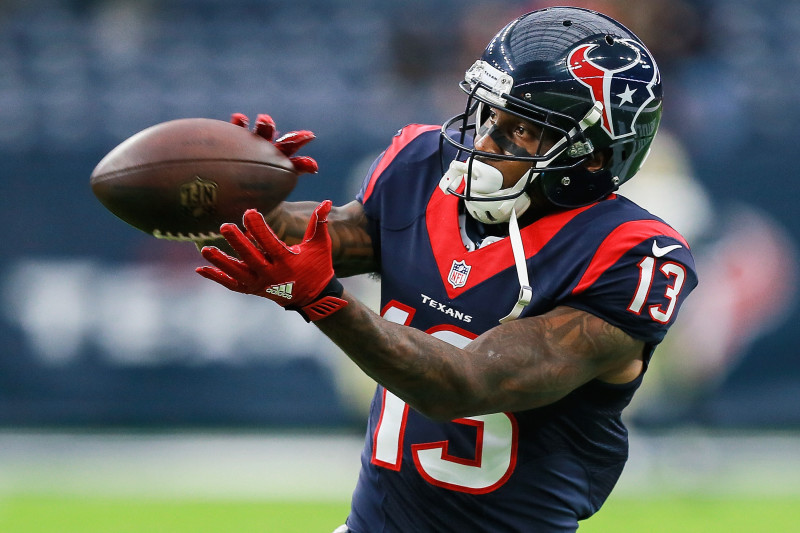 Braxton Miller Injury: Updates on Texans WR's Hamstring and Return ...