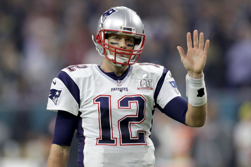 Photos of Tom Brady's Previously Missing Super Bowl 51 Jersey ...