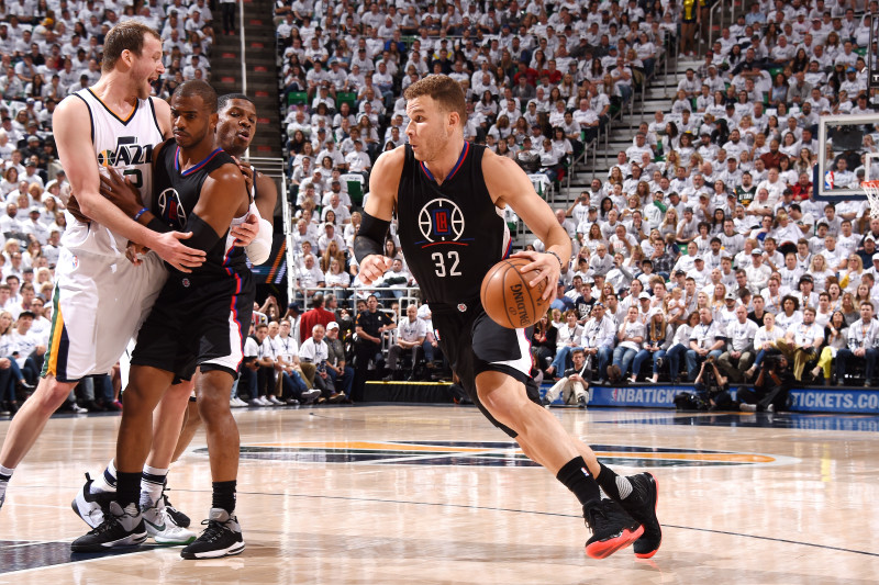 Blake Griffin Ruled Out for Rest of 2017 NBA Playoffs with Toe Injury | Bleacher Report | Latest News, Videos and Highlights