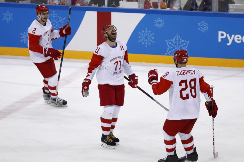 Olympic Hockey Results 2018 Russian Athletes Germany Move To Gold Medal Game Bleacher Report Latest News Videos And Highlights