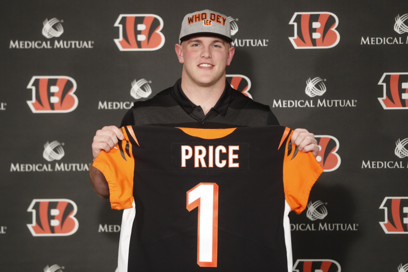 1st-Round Pick Billy Price, Bengals Agree to 4-Year Rookie ...