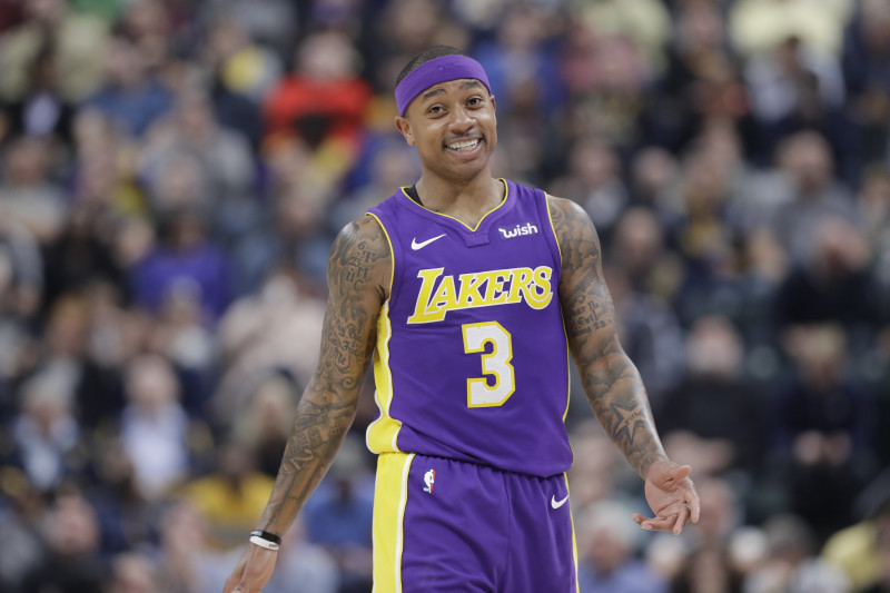 Lakers News: Isaiah Thomas Tweets He's 'Finally Pain Free' After ...