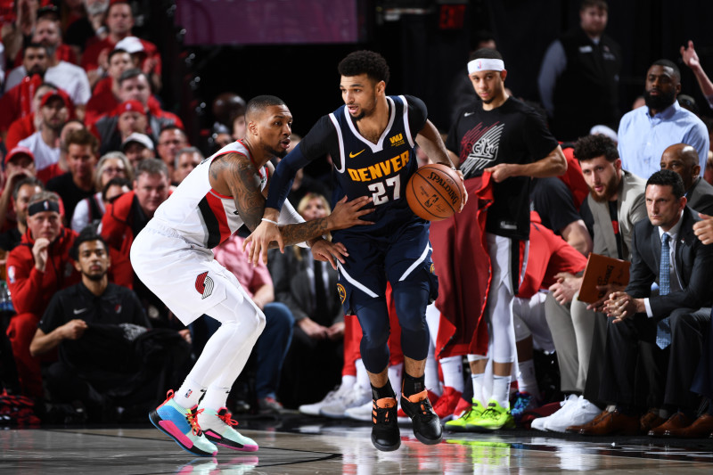 Jamal Murray Drops 34 as Nuggets Beat Damian Lillard, Blazers to Tie Series  at 2 | Bleacher Report | Latest News, Videos and Highlights