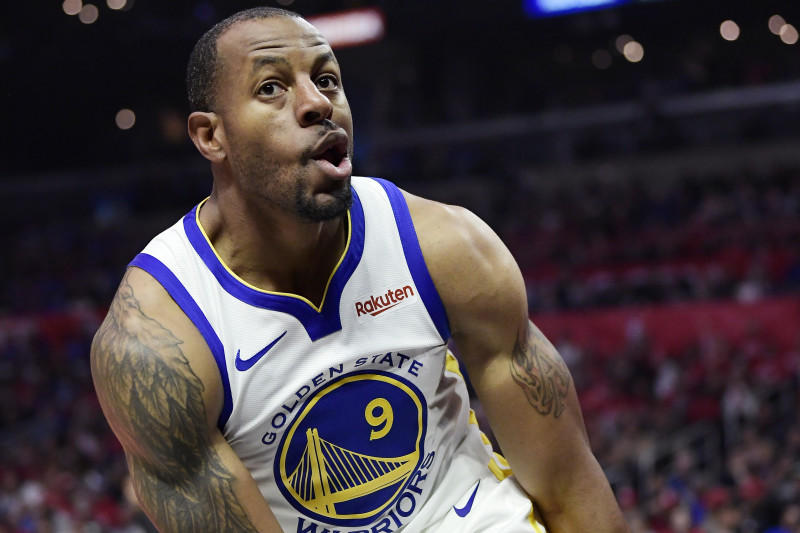 Andre Iguodala's No. 9 Jersey to Be Retired by Warriors After ...