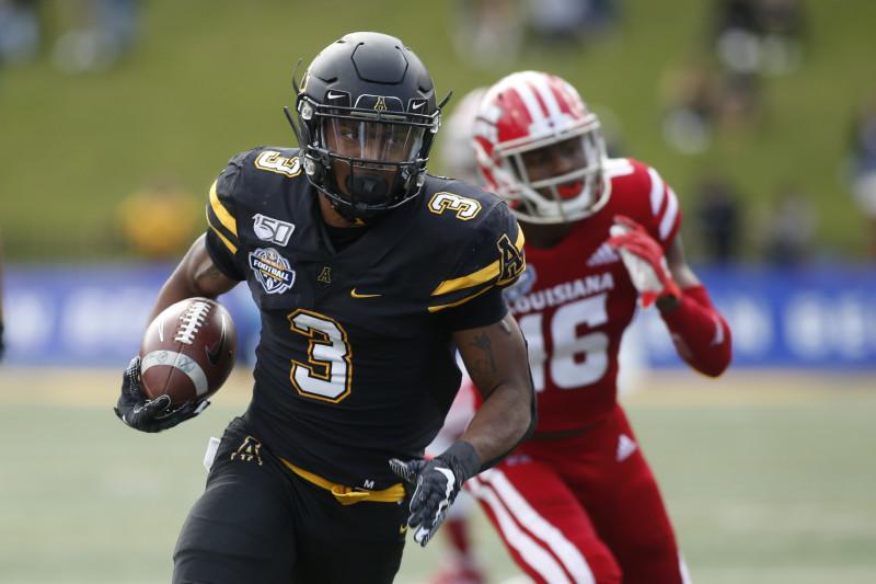Appalachian State vs Louisiana Lafayette Prediction & College Football Odds for Week 7