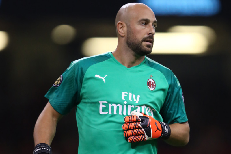 Pepe Reina Joins Aston Villa on Loan from AC Milan Until End of ...