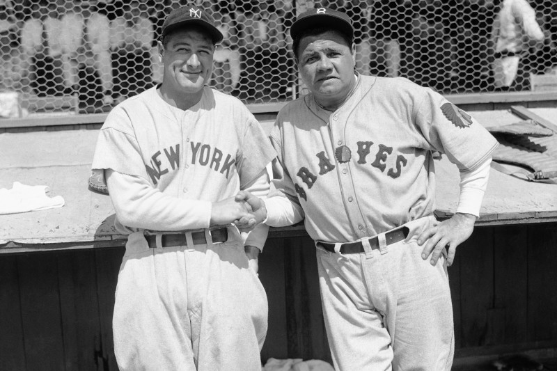 Babe Ruth, Lou Gehrig, More Rare Baseball Cards Expected to ...