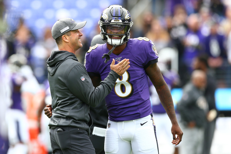 Lamar Jackson on Harbaugh: We Both Don't Take Any Crap ... That's Why I  Love Him   Bleacher Report   Latest News, Videos and Highlights