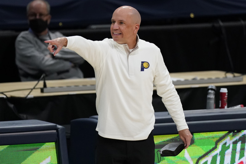 Nate Bjorkgren Reportedly Fired as Pacers Head Coach After 1 Season |  Bleacher Report | Latest News, Videos and Highlights