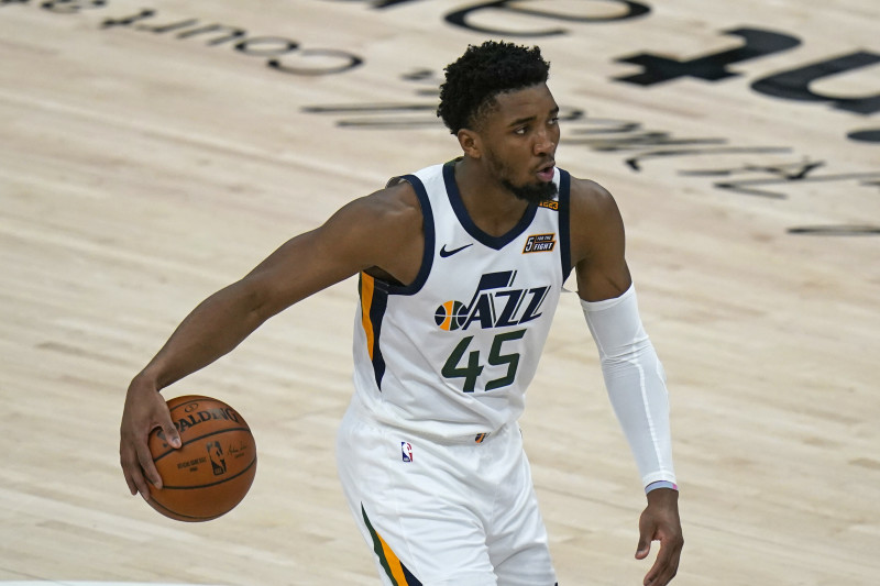 Donovan Mitchell Available for Jazz After Missing Game 1 with Ankle Injury  | Bleacher Report | Latest News, Videos and Highlights
