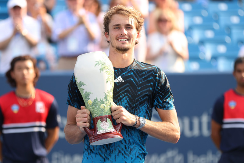 Western and Southern Open 2021: Alexander Zverev Defeats Andrey Rublev in  Final | Bleacher Report | Latest News, Videos and Highlights
