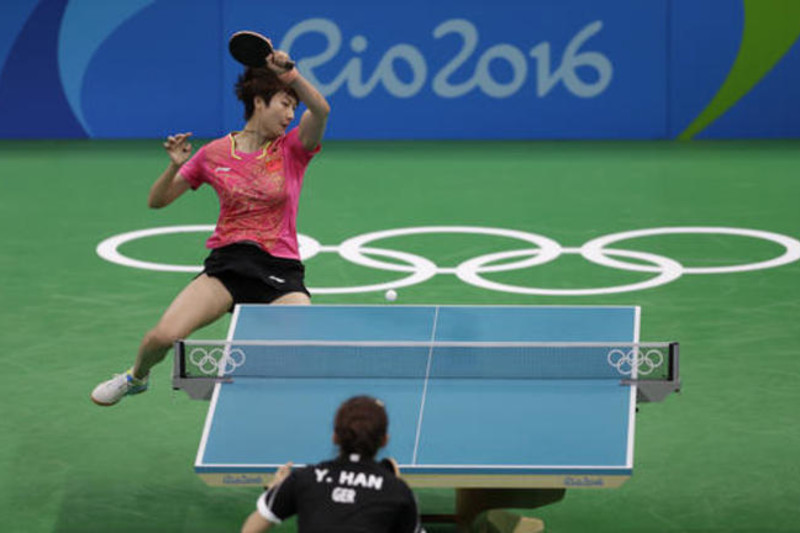 Do not confuse pingpong for table tennis.