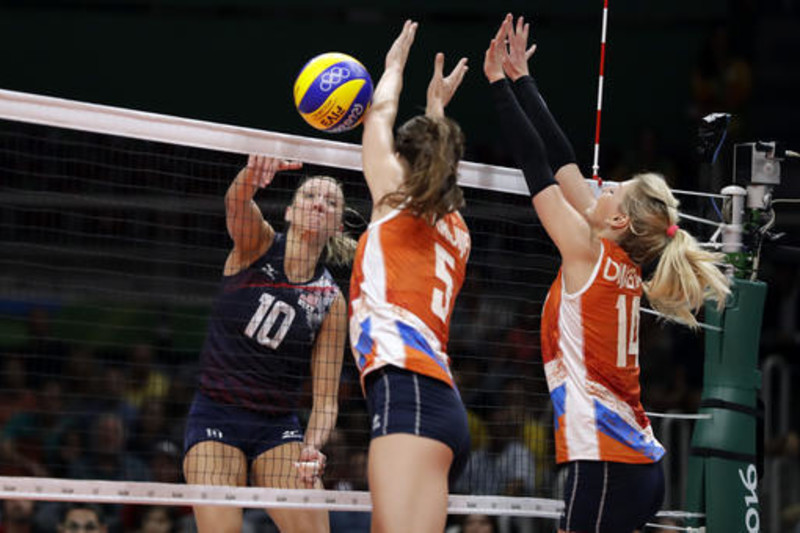 The United States and the Netherlands produced a classic volleyball match at the 2016 Summer Olympics.