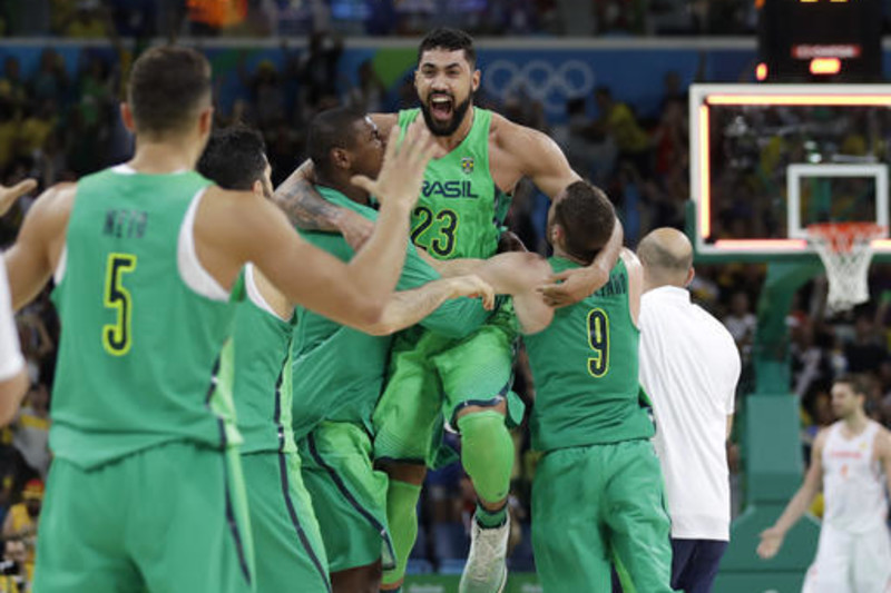 Some of the best basketball players in the world still compete at the Olympics.