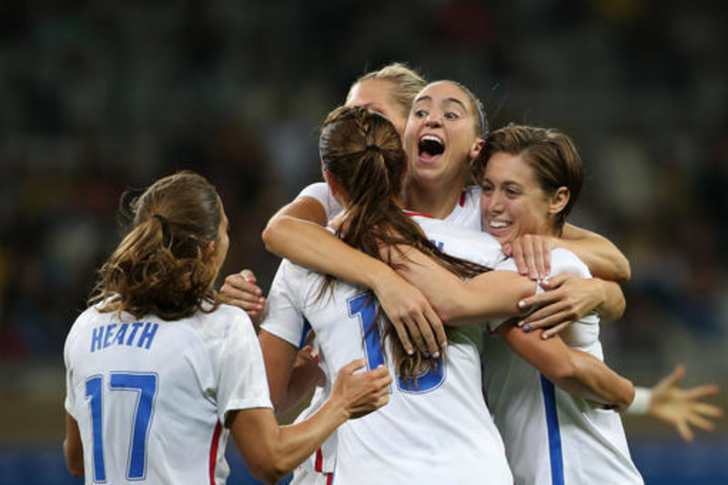 The United States women's national team is expected to win gold at the 2016 Summer Olympics.