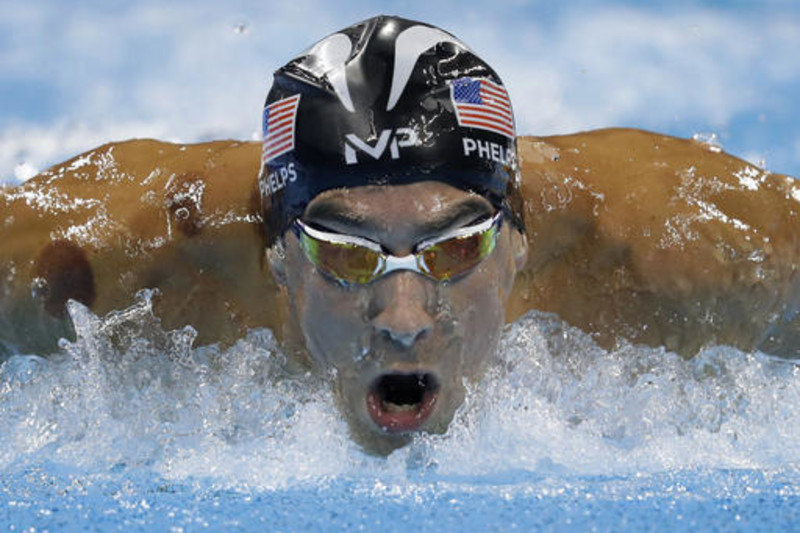 Michael Phelps is a superstar in and out of the pool.